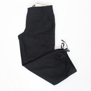 Banana Republic Crop Pants Wool Black XX41